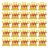 25PCS noël Paillettes Couronne de Couleurs, Noël coloré LED Flash Badge Badge Broche Décoration Mignonne pour vêtements ou Chapeaux Noël Festif...