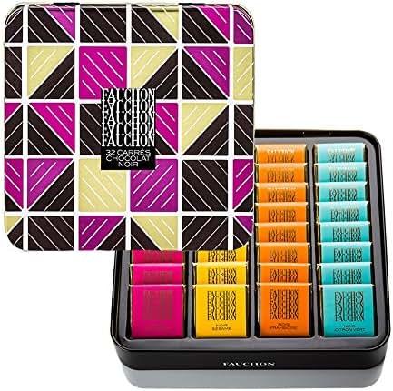Fauchon - 32 carrés de chocolat noir