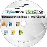 Apache Open Office & Libre Office 2019 Ultima edizione completa per TUTTI Windows e mac | Alternativa a Microsoft Office…