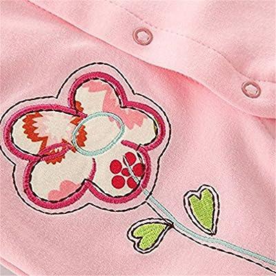 Ruiying Bebés Pijama Algodón Mameluco Niñas Peleles Sleepsuit Caricatura Trajes Unisex Algodón Ropa De Para Recién Nacido
