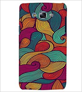 PrintDhaba Pattern D-2061 Back Case Cover for SAMSUNG GALAXY J7 (Multi-Coloured)