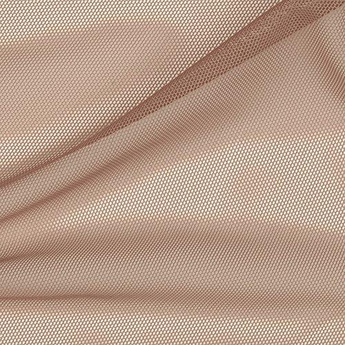 Spandex Stretch Illusion Shaper Mesh Nude Fabric by Vittelex Fabrics