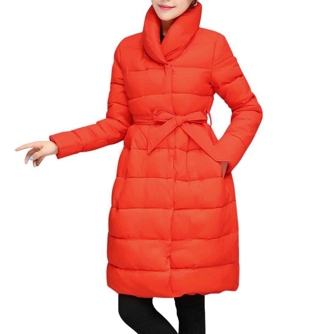 donne parka impermeabile imbottita spessa cappotto, Mamum moda donna inverno caldo giacca lunga coto