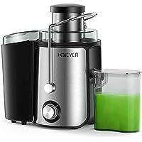 Extracteur de Jus, Homever Centrifugeuse Extracteur de Jus de Fruits et Légumes avec Bouche de 65MM, en Acier Inoxydable de Qualité Alimentaire, Sans BPA