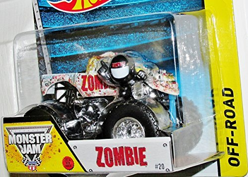 Zombie New Truck 2014 Hot Wheels Monster Jam 1:64 Scale Off Road Truck #20 by Monster Jam