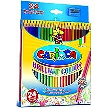 Carioca Hexagonal - Lápiz de color (Madera, Multi, Hexagonal, Caja de cartón)