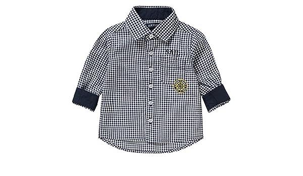 Blue Seven Jungen Kragen Hemd kariert 994006