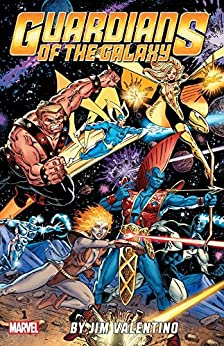Guardians of the Galaxy By Jim Valentino Vol. 1 (Guardians of the Galaxy (1990-1995)) by [Valentino, Jim, DeFalco, Tom, Kaminski, Len, Marz, Ron]