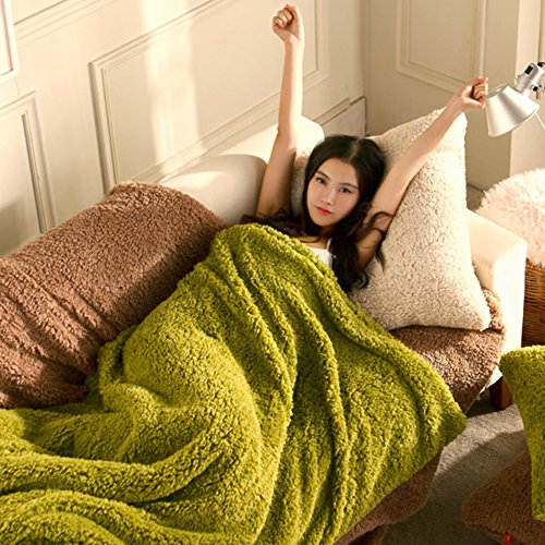 Tan-100% Kaschmir (XAIOJIBA Decke/Office Napping Decke/Kaschmir Decke/Decke/Scho?-Teppich/schal-Decke/Sofa Decke/Pi Tan/nap-Decke-a 100x140cm(39x55inch))