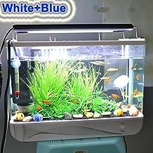 Iluminación LED para acuario, alta intensidad, 96 cm, 23 W, para acuario de agua dulce o salada