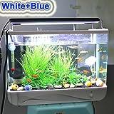 RunQiao HI-Lumen 96CM( passt für 99-109 cm Aquarium) 19W 3 Model LED Aquarien Hochwertiges Aluminiumgehäuse Aquariumbeleuchtung Beleuchtung Aufsetzleuchte Süßwasser Meerwasser Aquarium Hochwertiges Aluminiumgehäuse Lampe