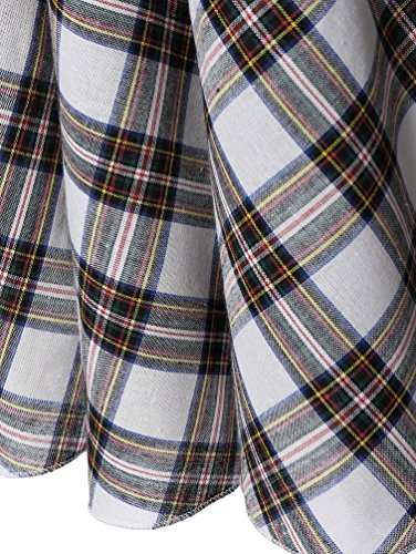 WanYang Damen Kleid Maxikleid Sommerkleid Kleid Ohne Arm Großes Kleid Knielang Druck Kleider (XL--5XL) Gitter