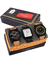 Ziera ZR7032/37/39 Combo Of 3 Exclusive Analog Watch - For Men