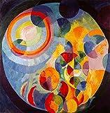 Kunstdruck/Poster: Robert Delaunay Zirkular Sonne und Mond
