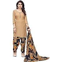 Vashtram Women's Lyon/Heavy Crepe Dress Material