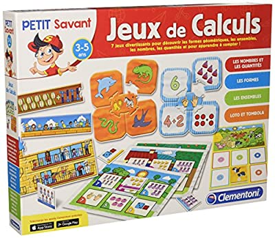 Clementoni - 62555-ADN - Jeux de Calculs-Jeu éducatif