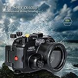 130FT/40M Unterwasser Kamera Tauchen wasserdicht Geh�use F�r Sony a6000 (Geh�use + Rot Filter) Bild