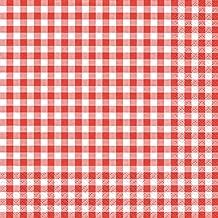 20er Pack Servietten ROTWEIN rot braun creme 33x33cm Papier Home Fashion
