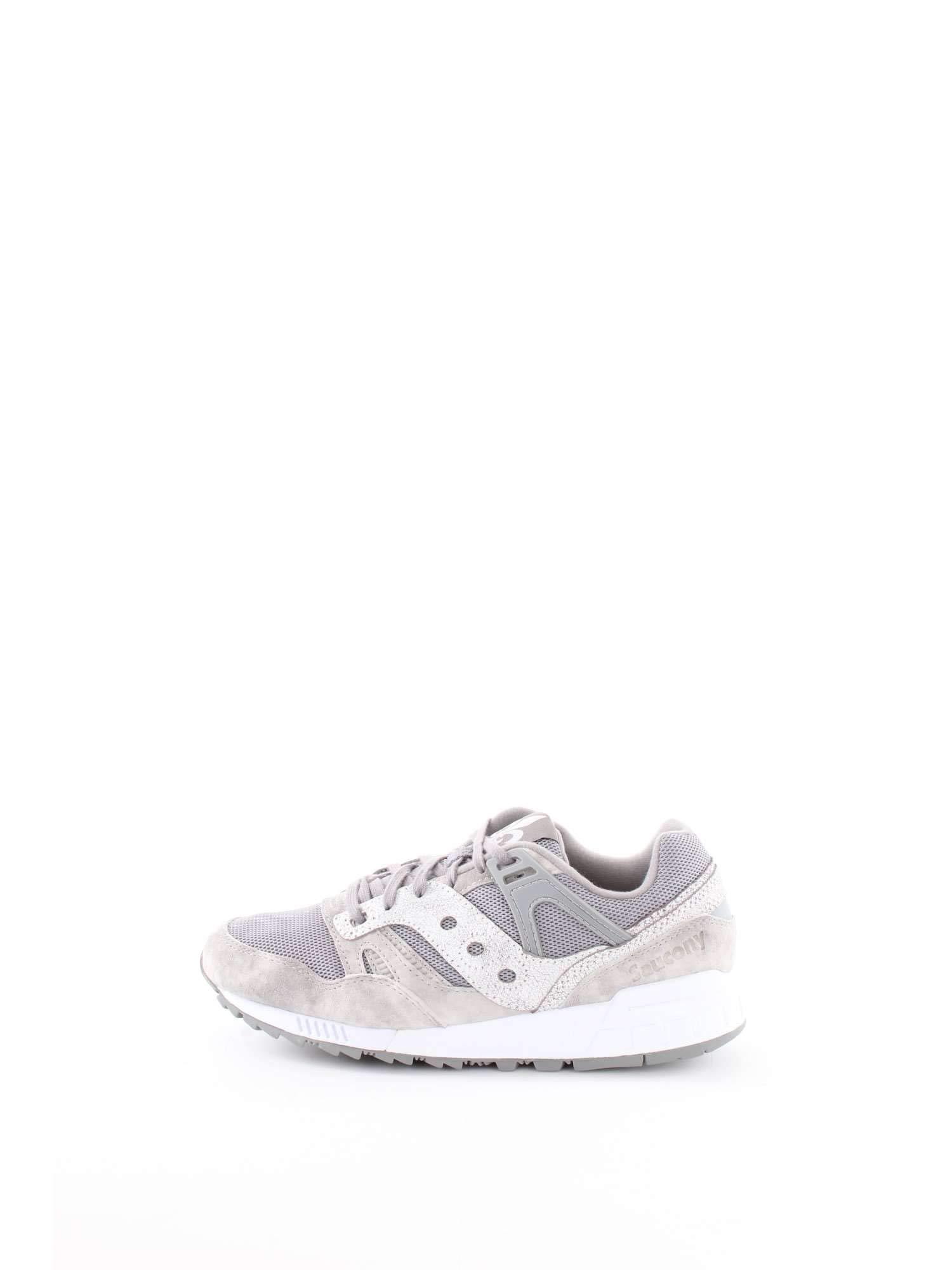 Saucony Sneaker Tessuto Tecnico e Camoscio con para in Gomma Bicolore e Logo Laterale 1 spesavip