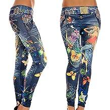hjuns–Pantalones skinny, leggings elásticos, ajustados para mujer