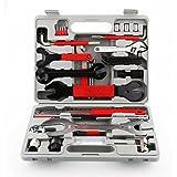 Femor Fietsgereedschapskoffer 48dlg fietsgereedschapsset, fietsgereedschap voor fietsmontagewerkzaamheden en reparaties,repar