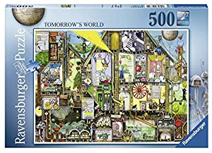 Ravensburger - Puzzle, diseño El Mundo Futuro, 500 Piezas (14731)