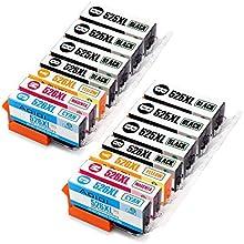 Aoioi Reemplazo para Canon PGI-525 CLI-526 Cartuchos de tinta