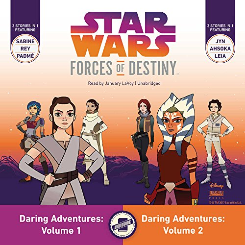 Star Wars Forces of Destiny Daring Adventures: Library Edition
