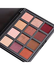 12 Colours Eyeshadow Palette, VALUE MAKERS®Shimmer & Matte Eye Palette-Waterproof Neutrals Cosmetics Make Up Tools Kit