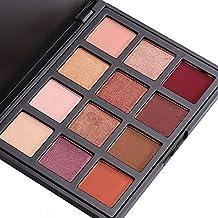 12 Colores Sombra de ojos paleta, VALUE MAKERS Shimmer & Matte ojos paleta-Neutrales impermeables Cosméticos Make Up Kit de herramientas