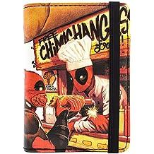 Cartera de Marvel Deadpool gratis Chimichangas Rojo