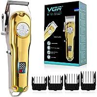 VGR Haarschneidemaschine Profi, Professioneller Haarschneider Set für Männer, USB Kabelgebundenes/Kabelloses Haartrimmer…