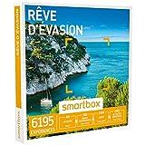 SMARTBOX - Coffret Cadeau - RÊVE D'ÉVASION - 6195 expériences : séjour, séance bien-être, gastronomie ou aventure