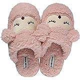 INMINPIN Zapatillas de Estar por casa para Mujer Niño, Invierno Confort Memoria Espuma Dibujos Animados Zapatillas de Interio