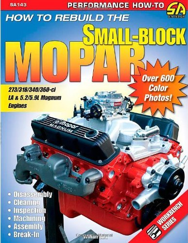 How to Rebuild the Small-Block Mopar (Performance How-To S-A Design):: Covers All Versions from 1964 to 2003: 273,318,340,360,5.2L, 5.9L by Bill Burt (2008-02-15)