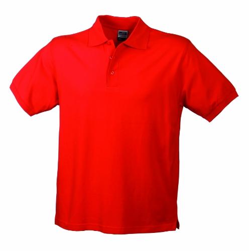 James & Nicholson Herren Poloshirt Rot (Rot)