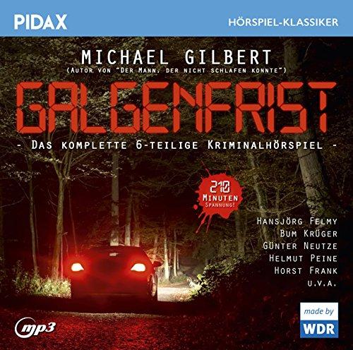 Galgenfrist (Michael Gilbert) WDR 1967 / pidax 2016
