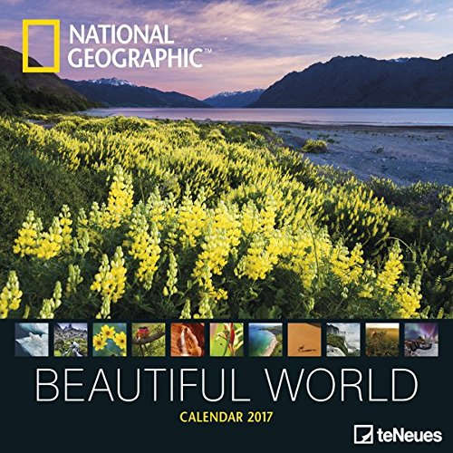 Teneues NG Beautiful World Calendrier 30 x 30 cm Blanc