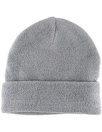 dehnbar zwischen M-L Wintermütze Damen Strickmütze mint Uni Mütze Größe