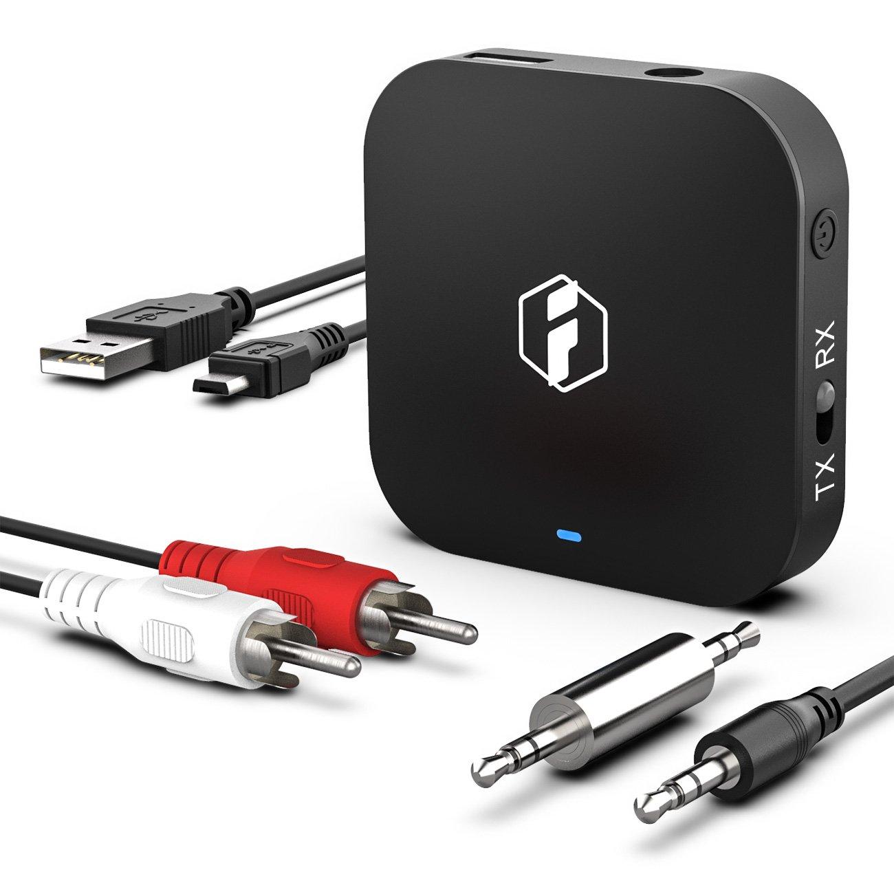 Inateck Bluetooth 4 1 aptX Low Latency Sender und Empfänger