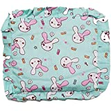 GoodStart Square Shape Soft Cotton Newborn Baby Head Shaping Pillow With Mustard Seeds/baby Rai Pillow/Rai Seed Pouch & Baby Neck Support Pillow In Animal & Cartoon Print, With Detachable Seeds Bag For 0-1 Years In Sea Blue Color