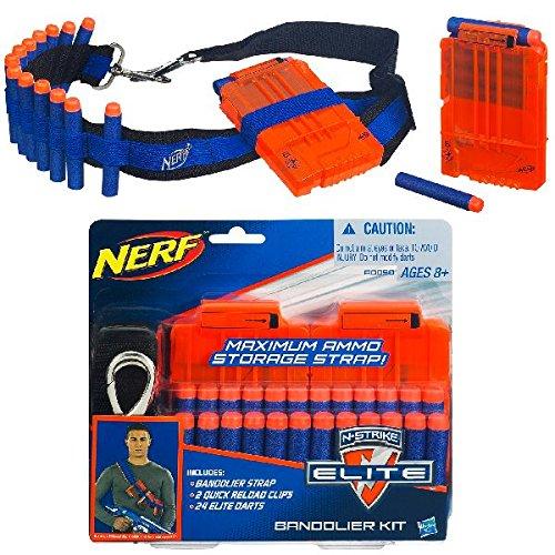 Hasbro Nerf A0090983 - N-Strike Elite Bandolier Kit, Nerf Zubehör - Elite-set-liege