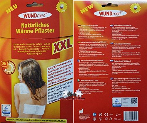 XXL Wärmepflaster 13 x 19cm Schmerzpflaster Wärmepads Rücken Schulter