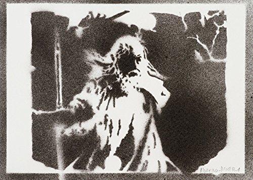 Herr der Ringe (The Lord of The Rings) Handmade Street Art - Artwork - Poster (Aragorn Schwert Kostüme)