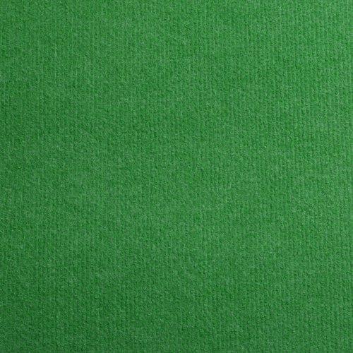 Cord Carpet, Bright Green, Cheap Thin Flooring - 7.5m x 4m