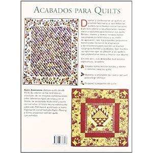 ACABADOS PARA QUILTS (Labores (drac))