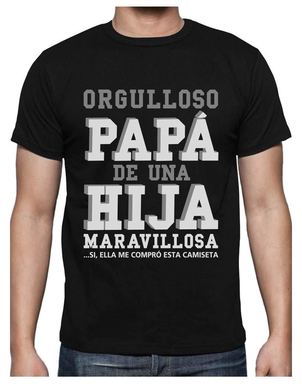 Green Turtle T-Shirts Camiseta para Hombre – Regalos para Hombre, Regalos para Padres. Camisetas Hombre Originales y Divertidas – Orgulloso Papá de una Hija Maravillosa