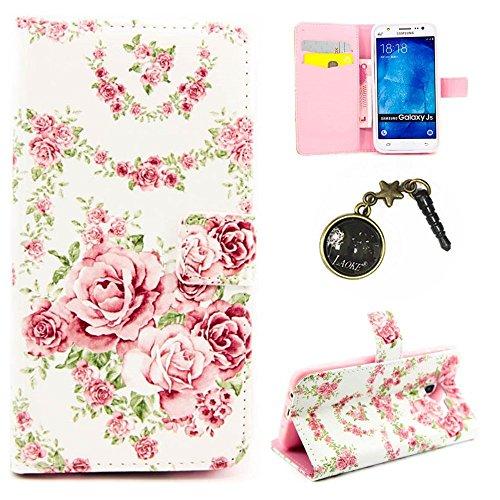 Preisvergleich Produktbild PU Silikon Schutzhülle Handyhülle Painted pc case cover hülle Handy-Fall-Haut Shell Abdeckungen für Samsung Galaxy J5 2015 Version (5 Zoll (12
