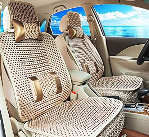 Car Seat Cushion Four Seasons As Gift High Quality Embroidery Danny Leather Car Seat Cover Universal Luxury Car Seat , B