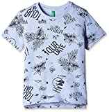 United Colors of Benetton Baby Boys' T-Shirt (16P3ABSC12RZG10T_Grey_0Y)
